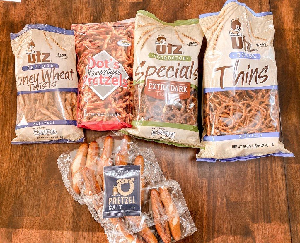 Pretzels for National Pretzel Day