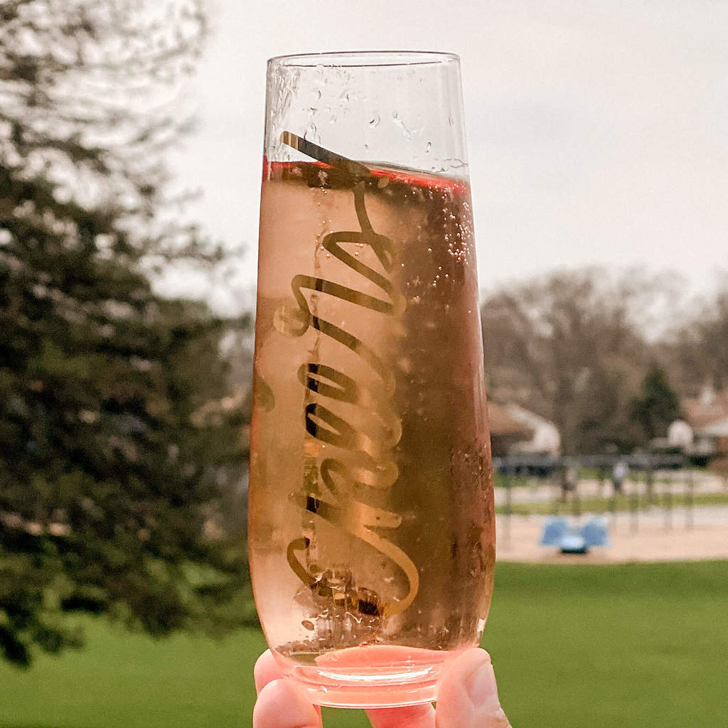 The perfect champagne cocktail to accompany the best Mother's Day Breakfast