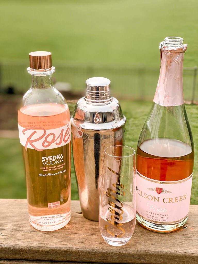 Svedka Rose vodka - drink recipe