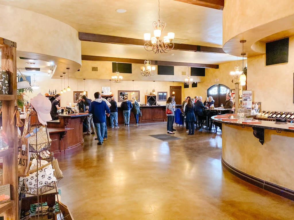 Danza del Sol Winery tasting room