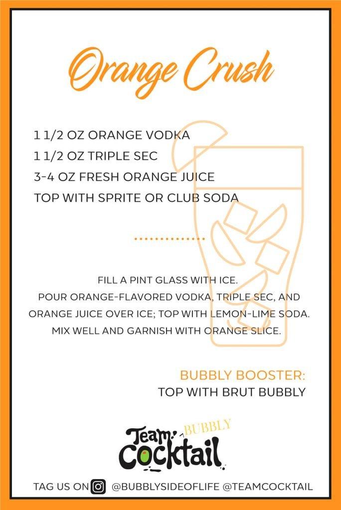 Orange Crust Summer drink