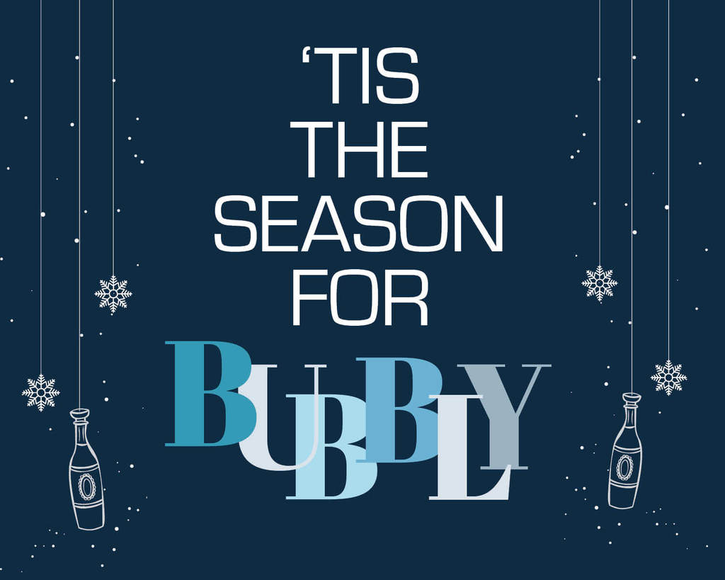 Because everybody's holidays need some bubbly...this custom bubbly bottle label from Bubbly Side of Life is perfect.