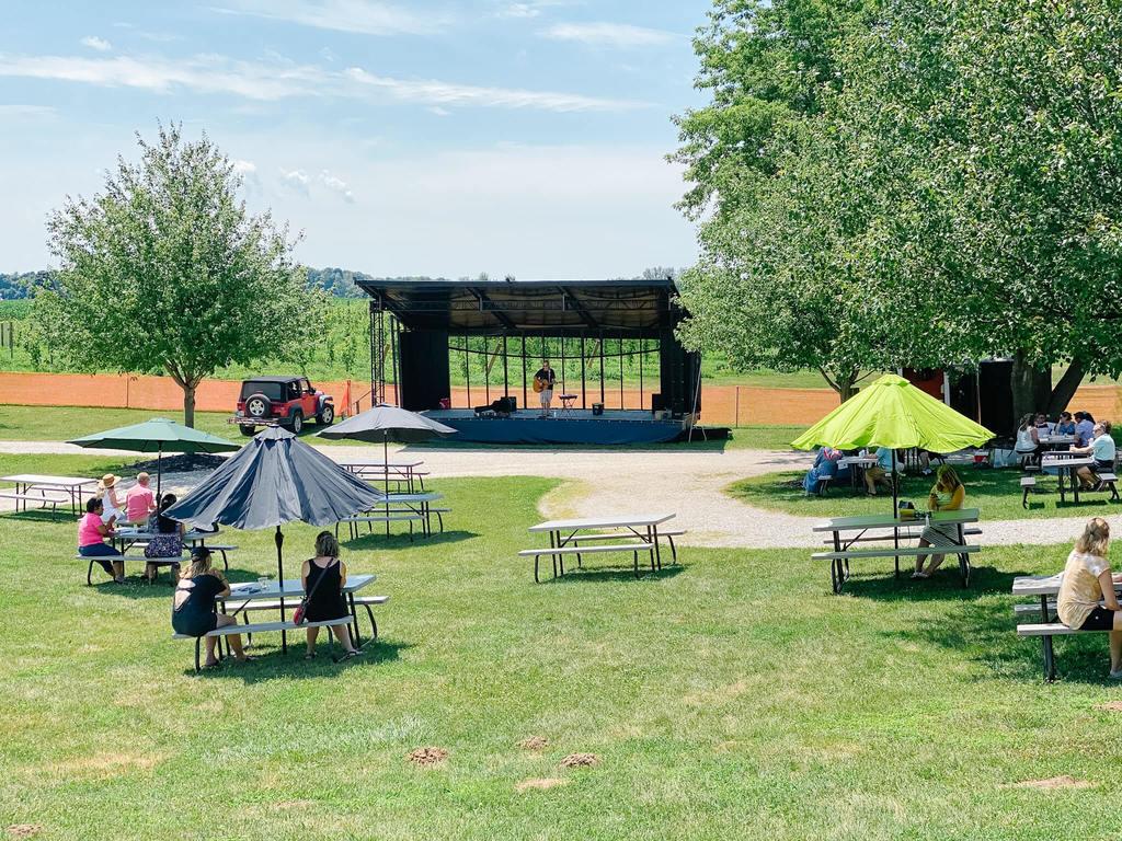 Fenn Valley Winery Outdoor Area