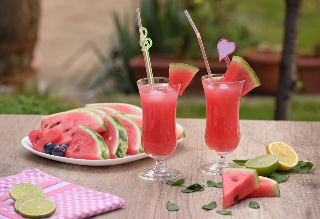 Watermelon beverages, the perfect summer drink