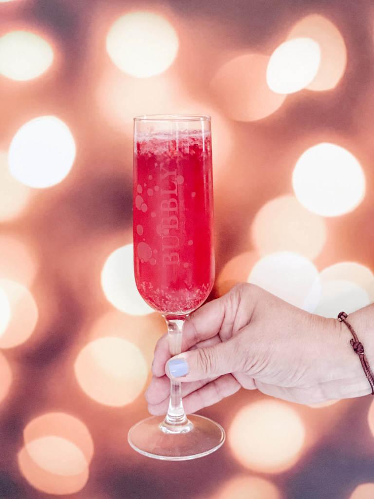 Sparkling Lemonade Cocktail and Mocktail