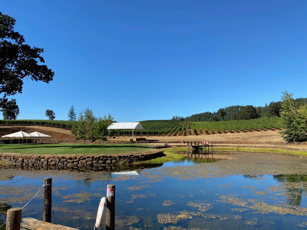 Eola Hills Winery Grounds