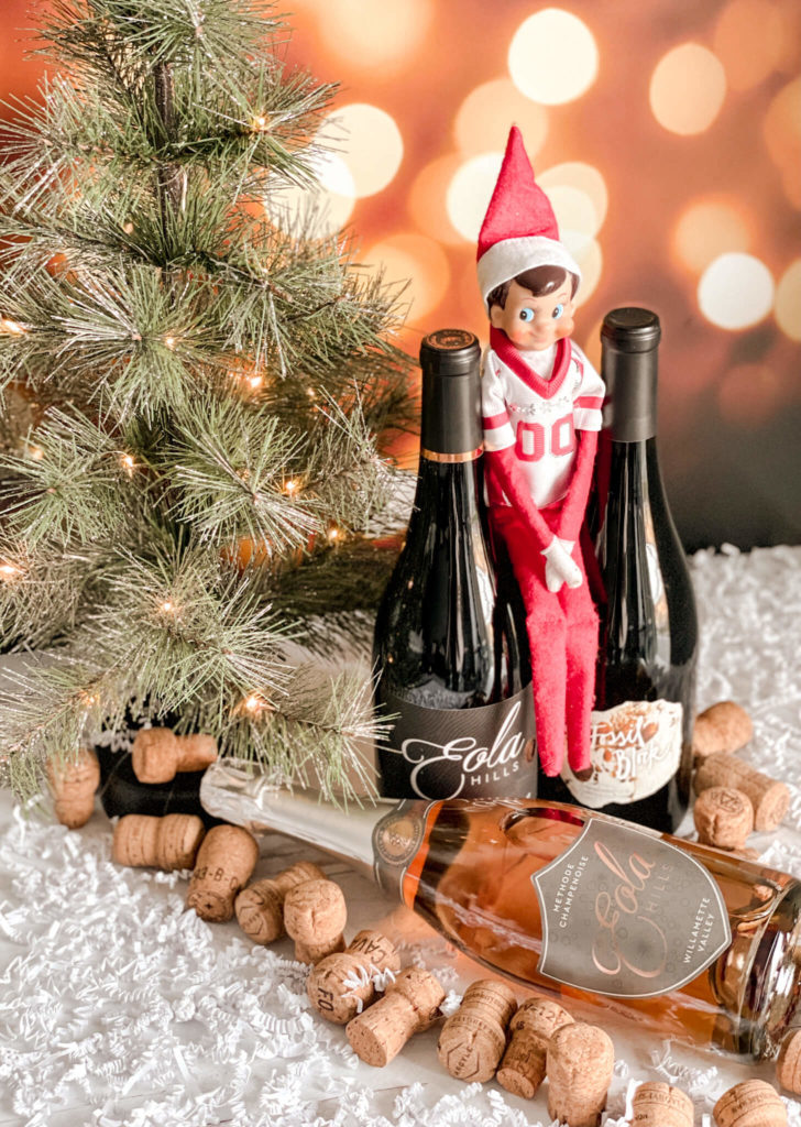 Christmas Holiday Bundle with 2 Pinot Noirs and 1 sparkling rosé of Pinot Noir