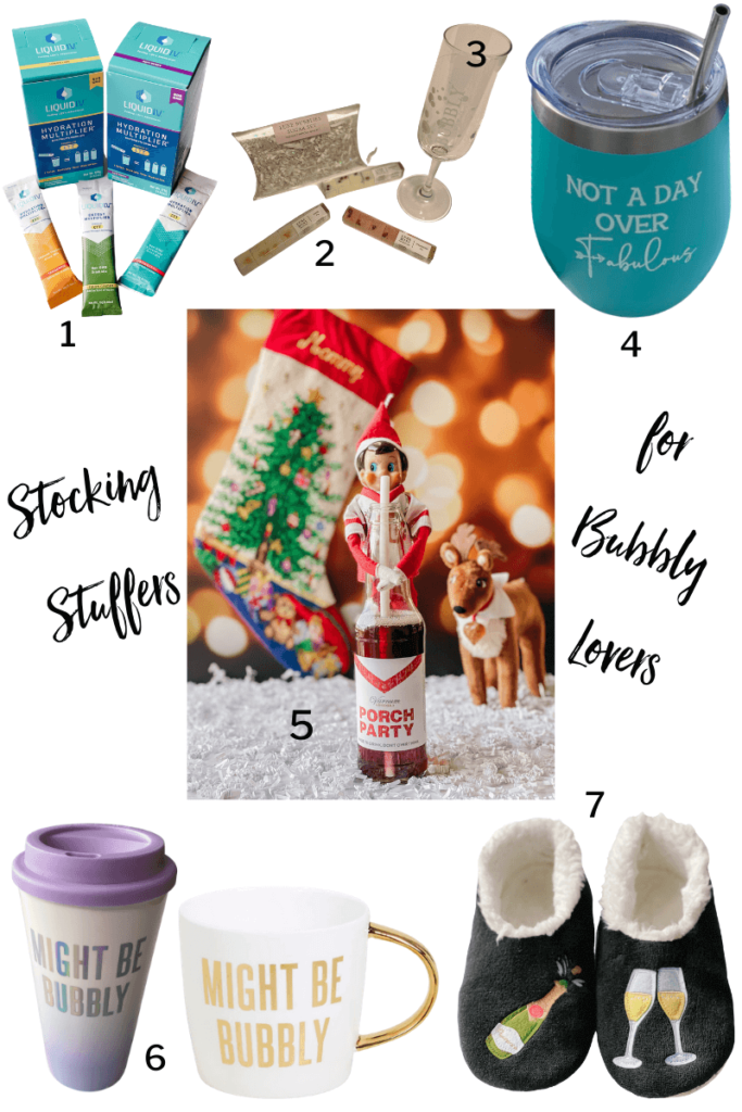 Best stocking stuffers for all bubbly lovers!