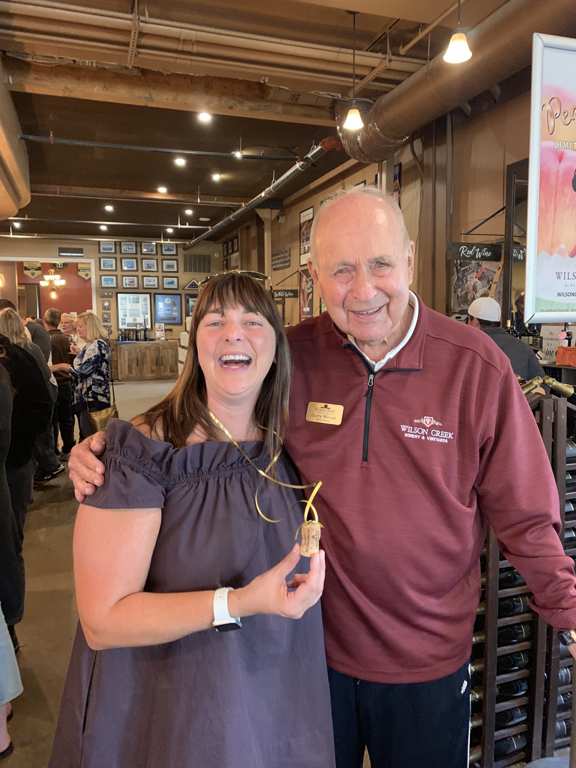 The Bubbly Side of Life with Gerry Wilson at Wilson Creek Winery