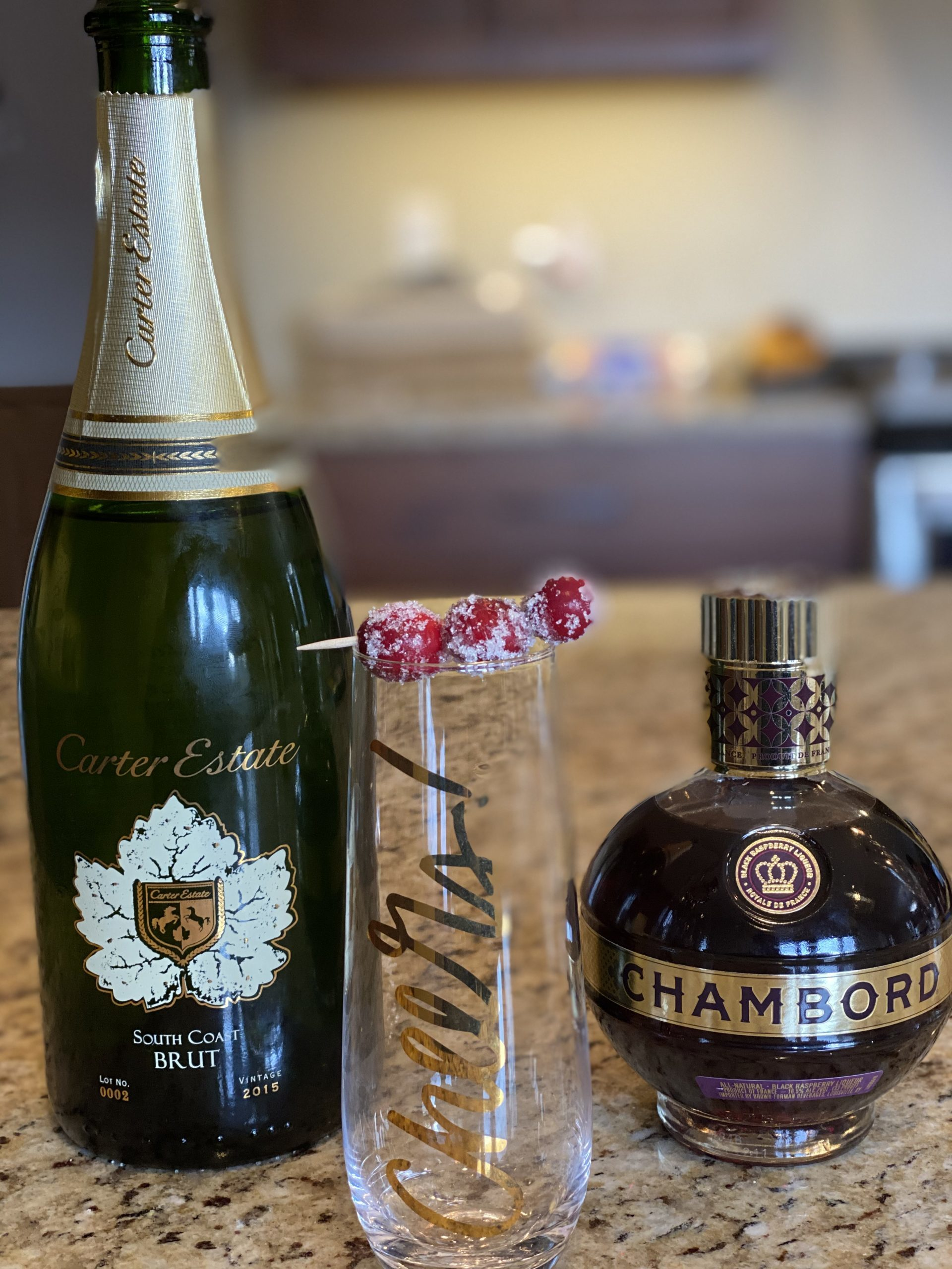 Bubbly cocktail ingredients to pair with loaded tater tots