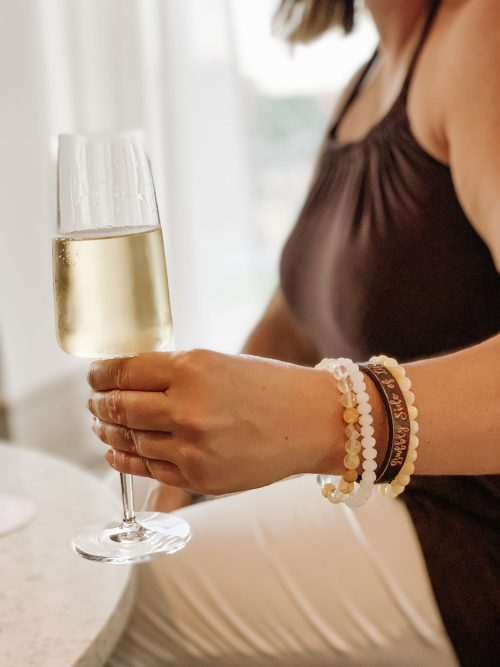 The Best Way to Live Your Bubbly Side=Celebrate Everyday Moments