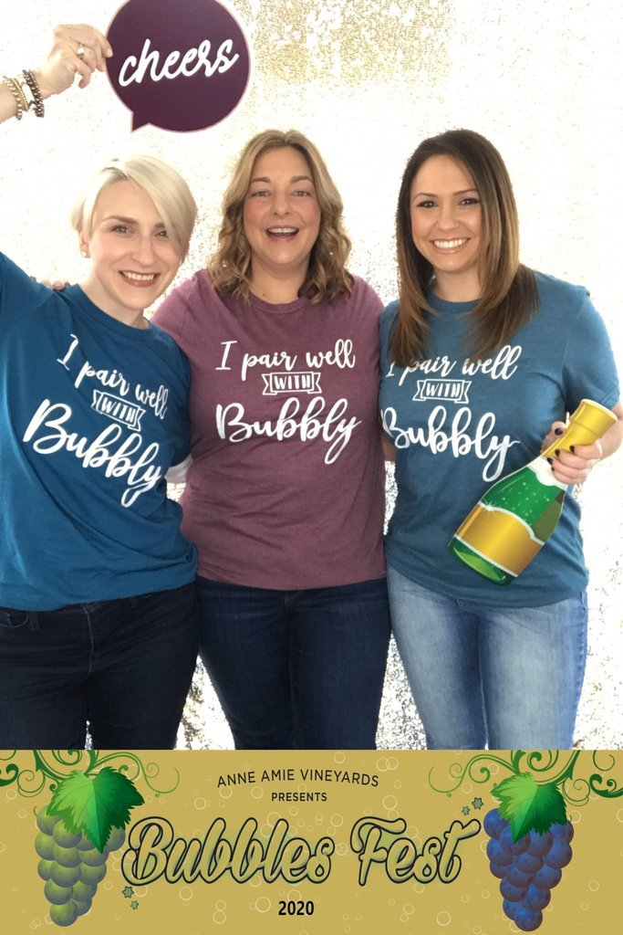 I Pair Well With Bubbly t-shirts...order yours now!