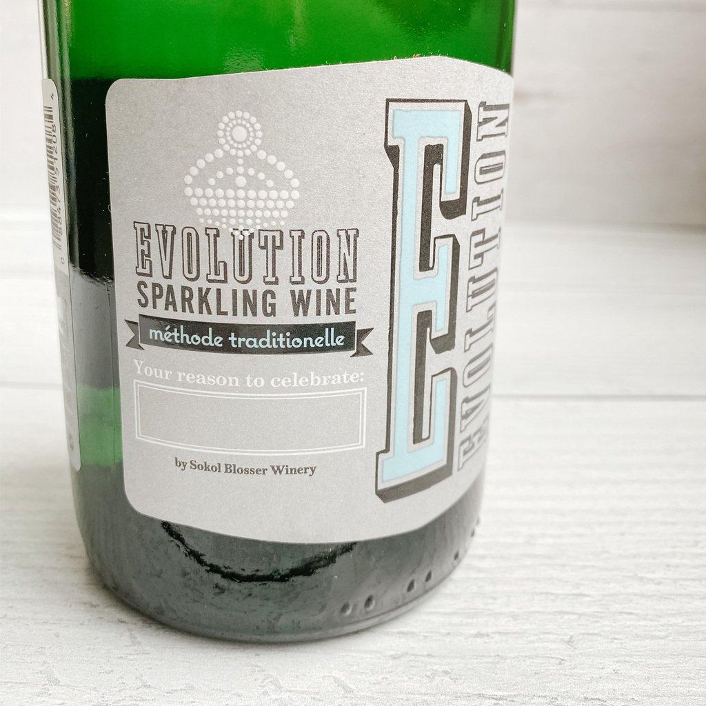 Evolution Sparkling Wine an affordable sparkling wine from Sokol Blosser.