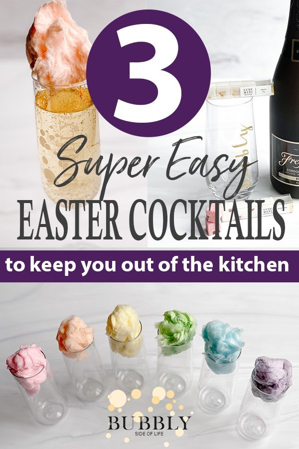 3 super easy easter cocktails to keep you out of the kitchen