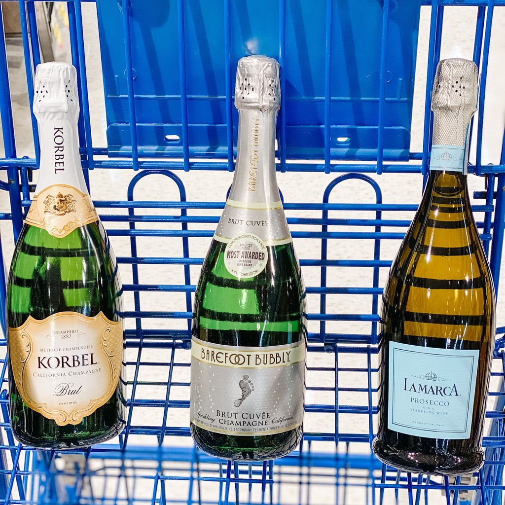 Best Grocery Store Champagnes for mimosas