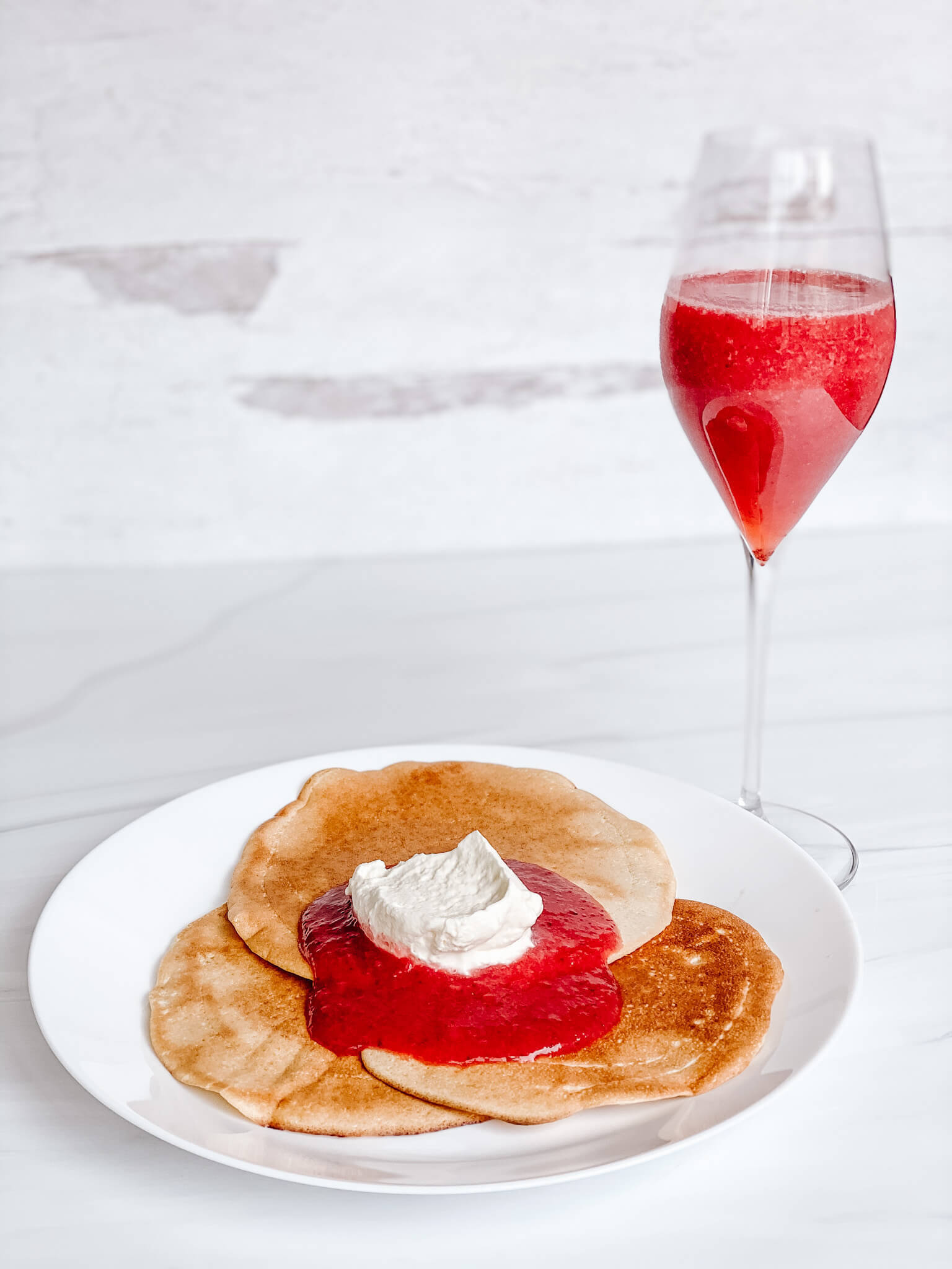 The Best Mother's Day Breakfast Menu with Perfect Bubbly Pairings including 2 Rosé Champagne Cocktails