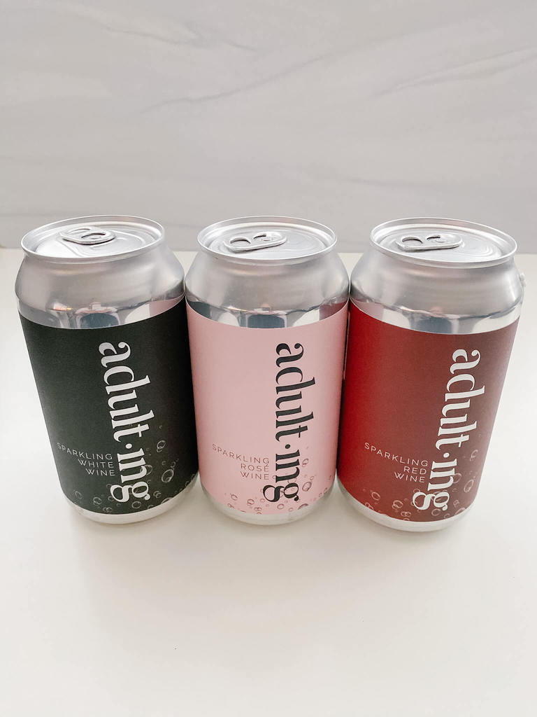 Take tailgating to the next level with adulting sparkling wine cans