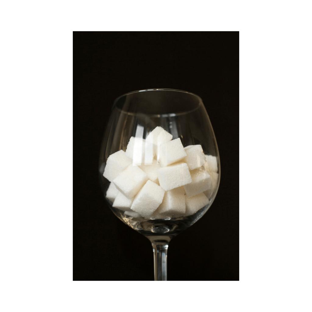 drinking sparkling wine on a low sugar diet.