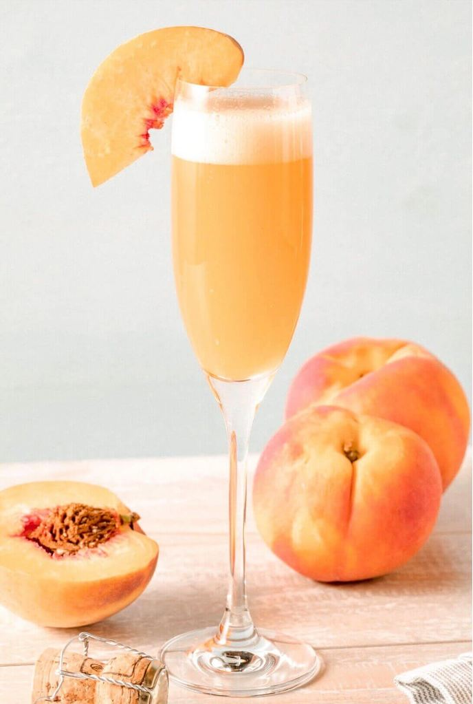 Bellinis are the cousin of the mimosa.