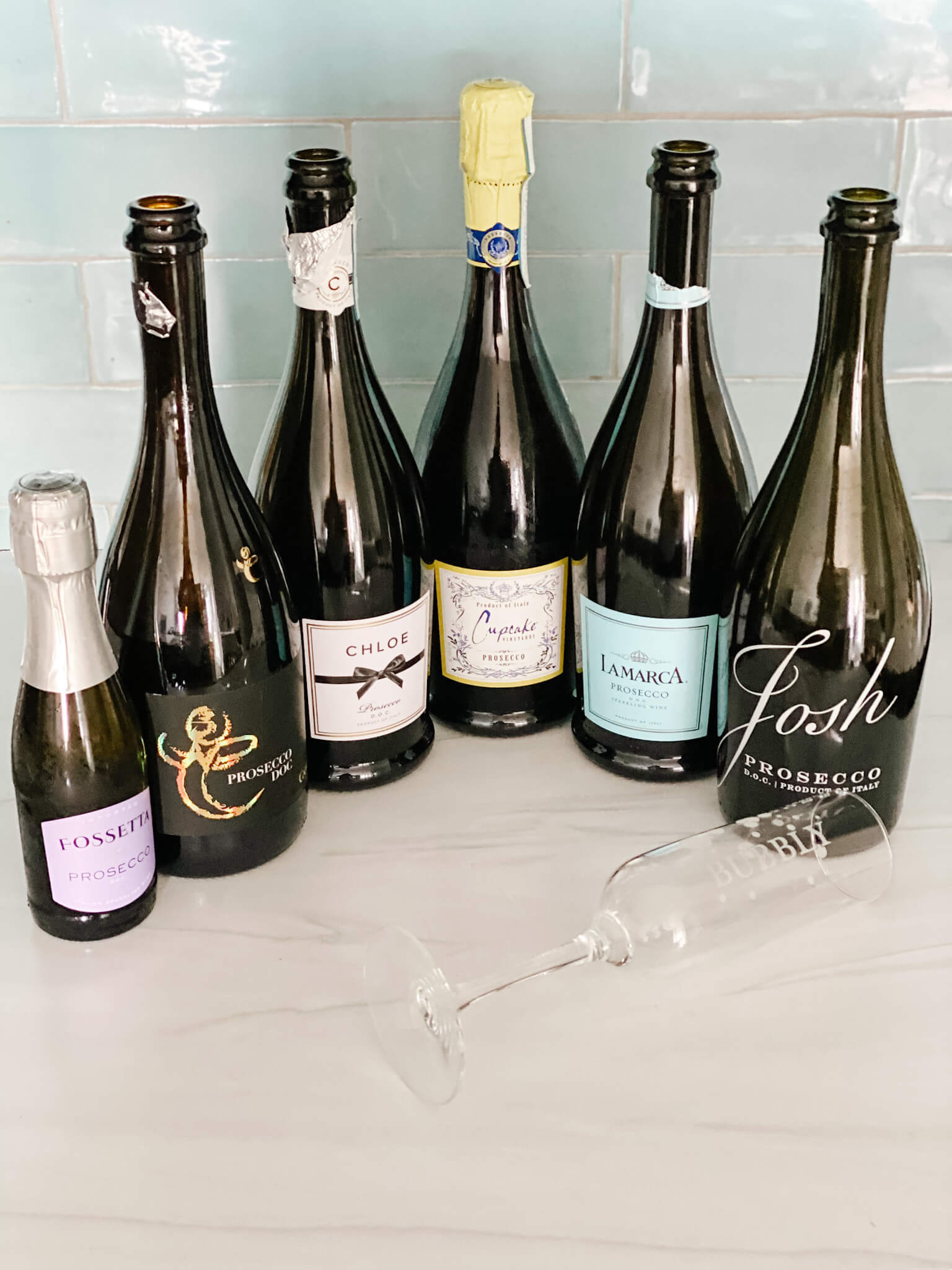 Tasting 6 Popular Prosecco DOC -Which One is Worth Popping?
