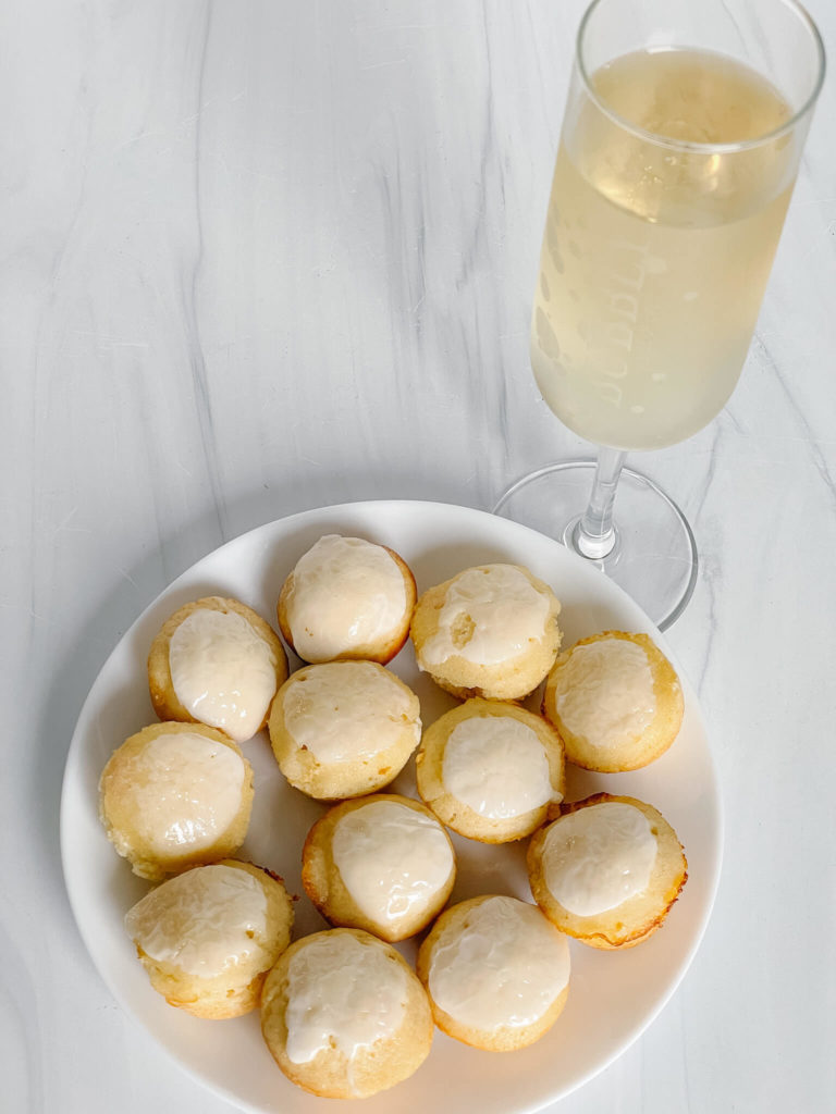 Mimosa muffins make the perfect addition to your mimosa brunch!