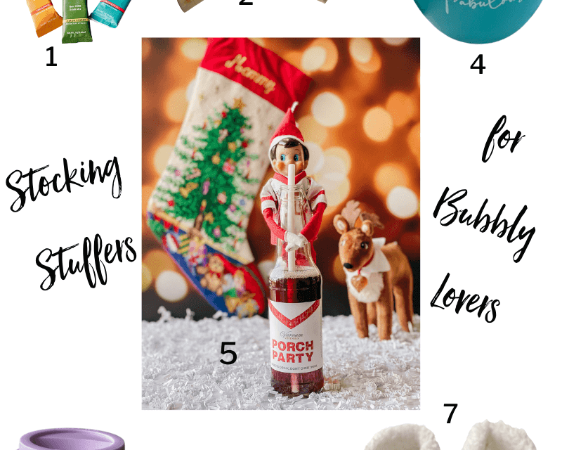 Best Stocking Stuffers for Women Who Love Bubbly