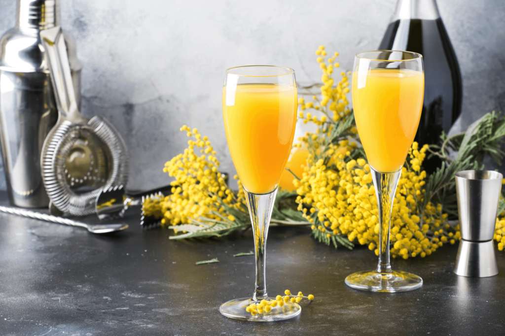The mimosa debate:  who created it?