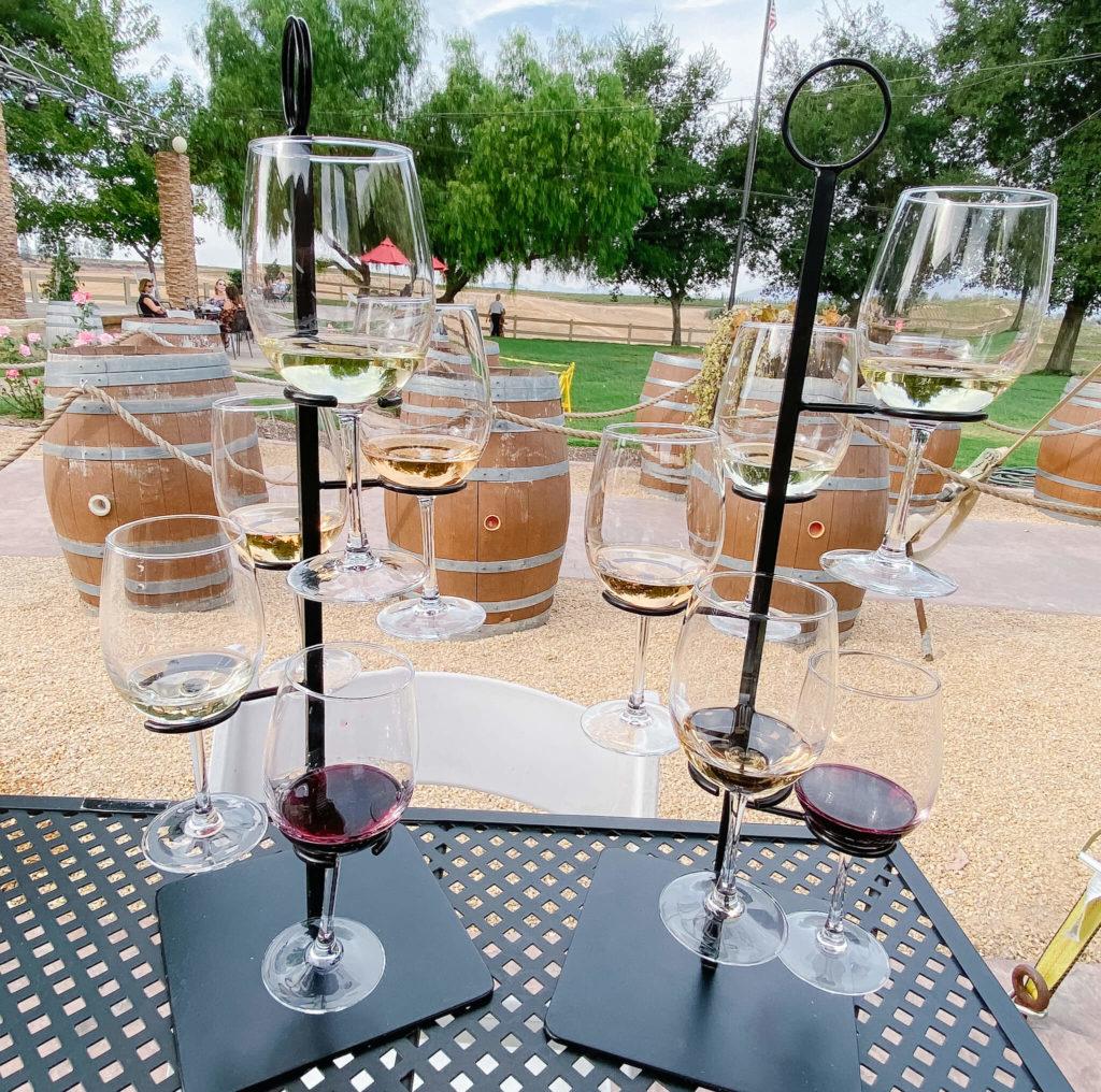Sparkling wine tastings