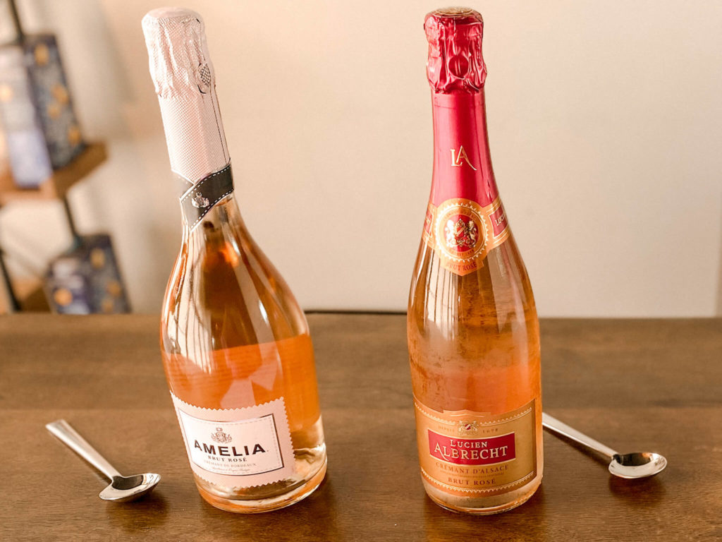 Crémant, another bubbly wine type.