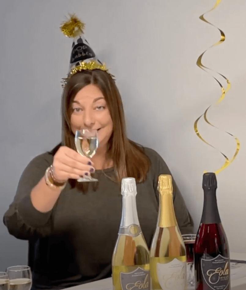 Celebrating New Year's Eve 2020