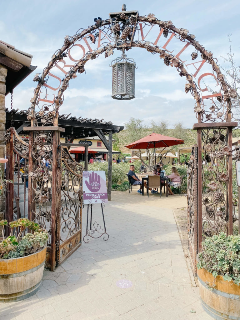 Europa Village, a Temecula Wine Country winery.