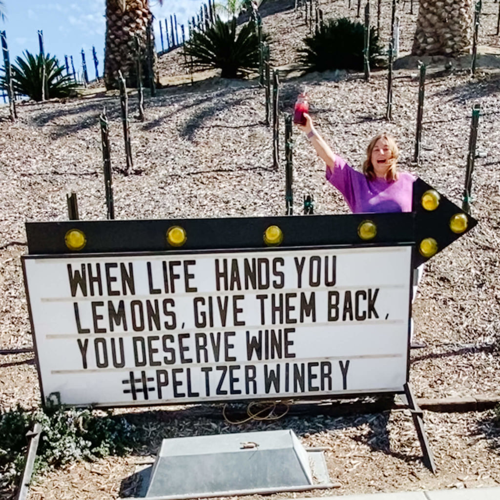 Peltzer Winery, a Temecula Wine Country winery.