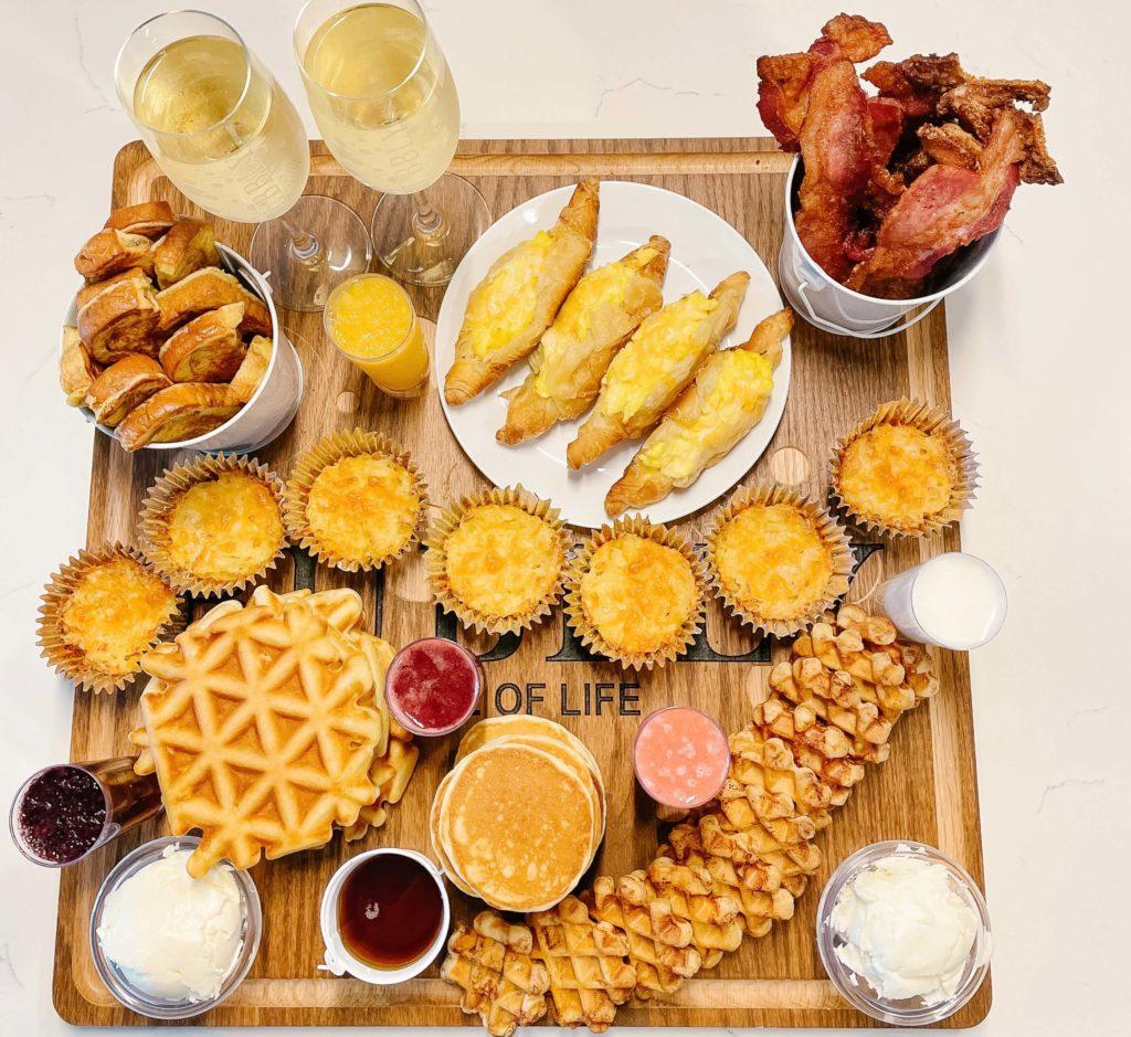 Breakfast Charcuterie board
