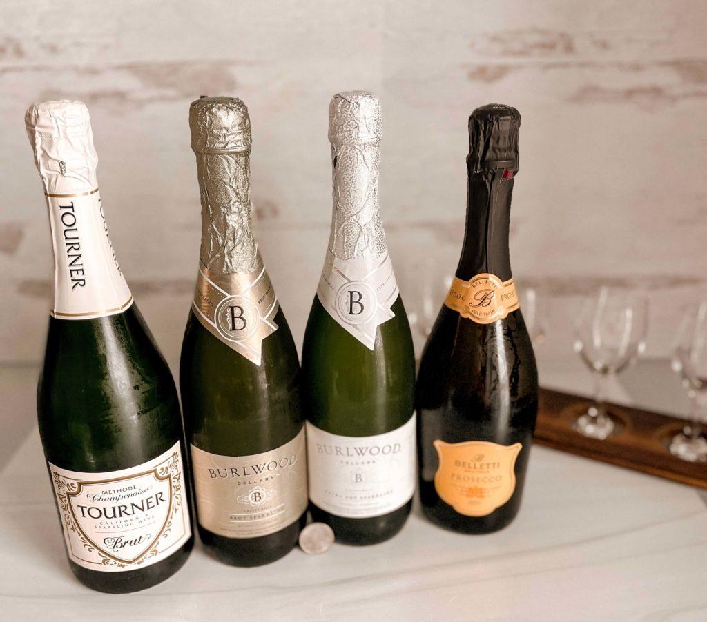 Aldi sparkling wine selection