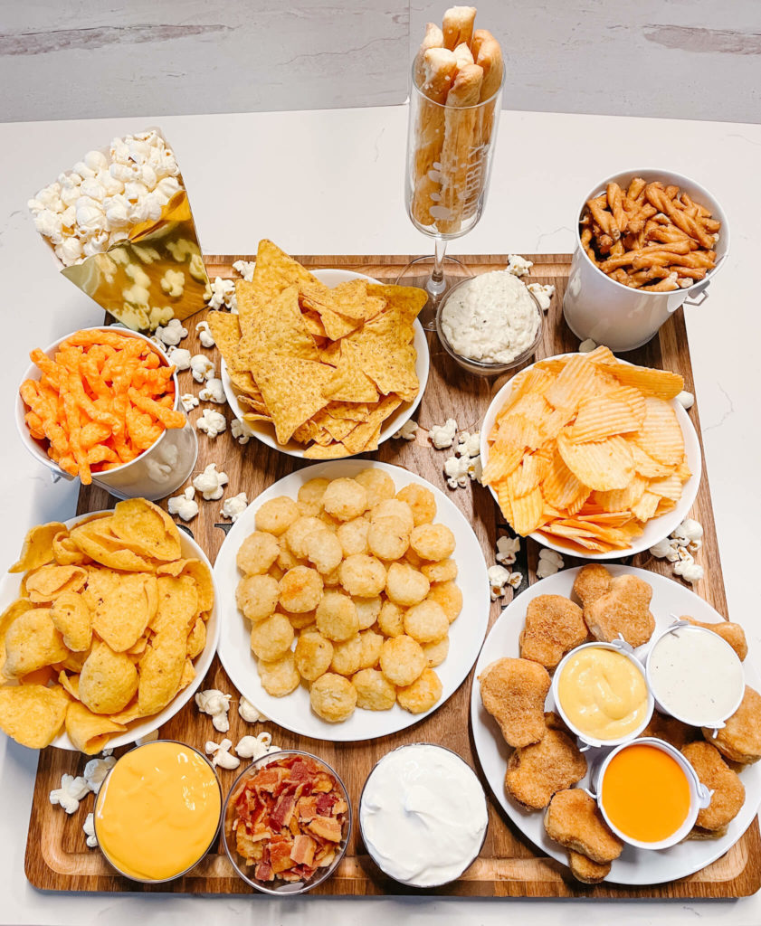 The big game snacks with something for everyone!