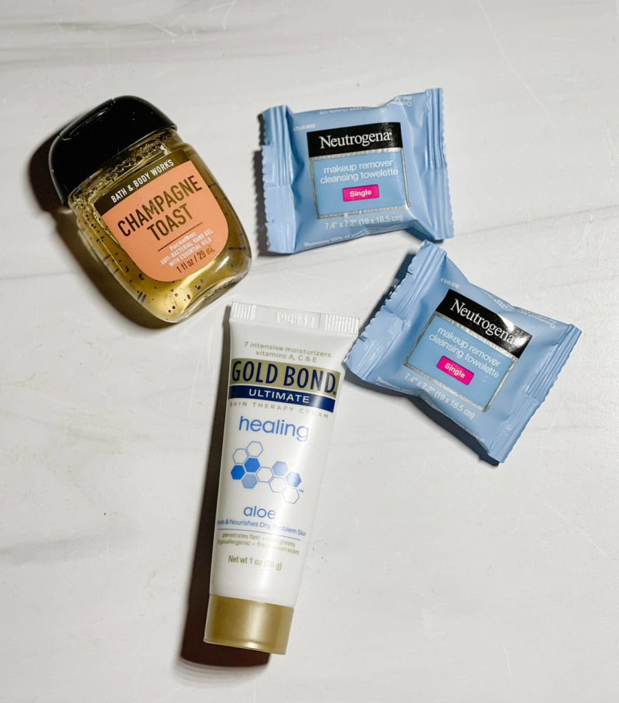 Protect your immune system with these items in the travel pack.