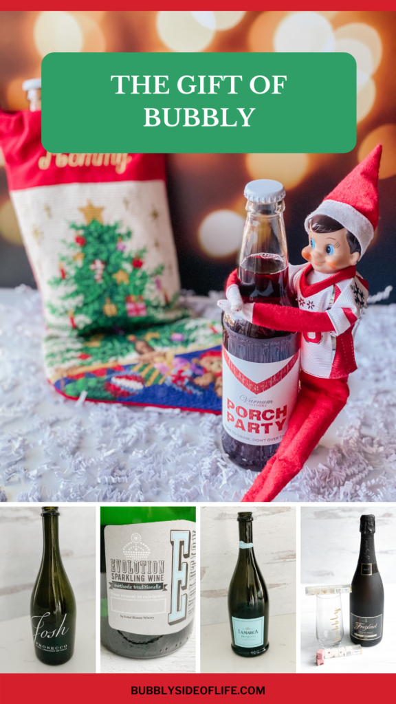 Bubbly is the Perfect Christmas Gift