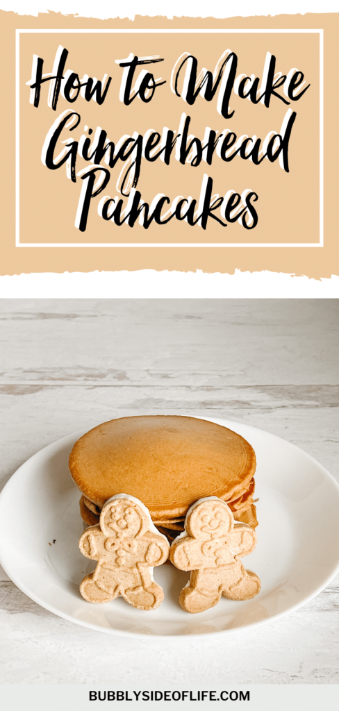 Tis the season for all things gingerbread, right? Gingerbread houses, gingerbread men and of course, bubbly gingerbread pancakes. It's the perfect breakfast for the holiday season. These gingerbread pancakes not only taste delicious, but will make your house smell oh so good too. And that's the perfect way to wake up during the holidays. This gingerbread pancake recipe is perfect for Christmas morning breakfast or brunch! Check out our recipe here!