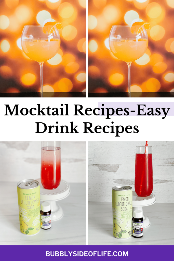 New Mocktail recipe alert! Last year, by request, we created a nine mocktail recipes, and we are back to do 9 more drink recipes for you guys today! Check out our easy mocktail recipes here! Mocktails are the perfect drink to create when you're celebrating with kids or with those who aren't drinking for whatever reason. Create your perfect mocktail drink here!