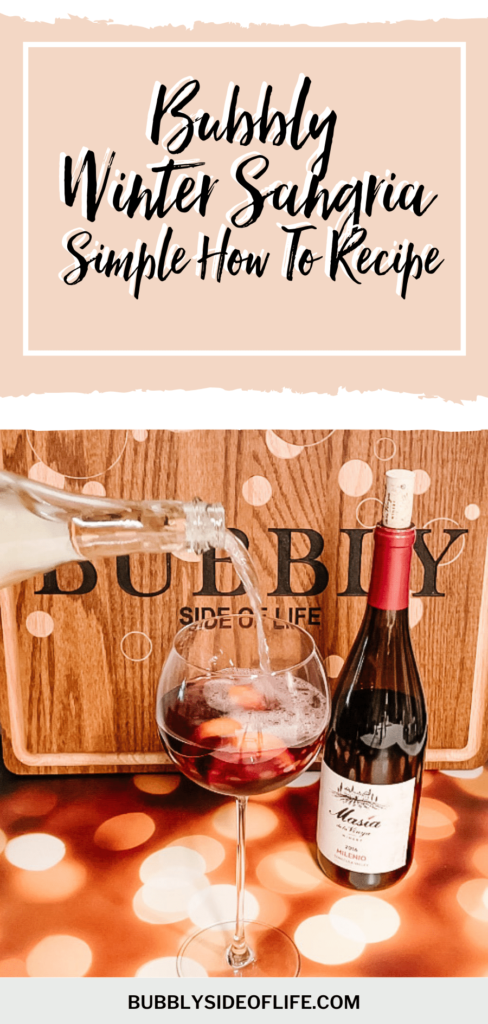 I learned how to make the perfect sangria. It's the perfect combination of red wine, brandy, fruit and since then, we, of course, have add bubbly to top it off! This Winter Sangria Recipe is to die for! Learn more about my simple but delicious sangria recipes here! Share your sangria drink creations in the comments!