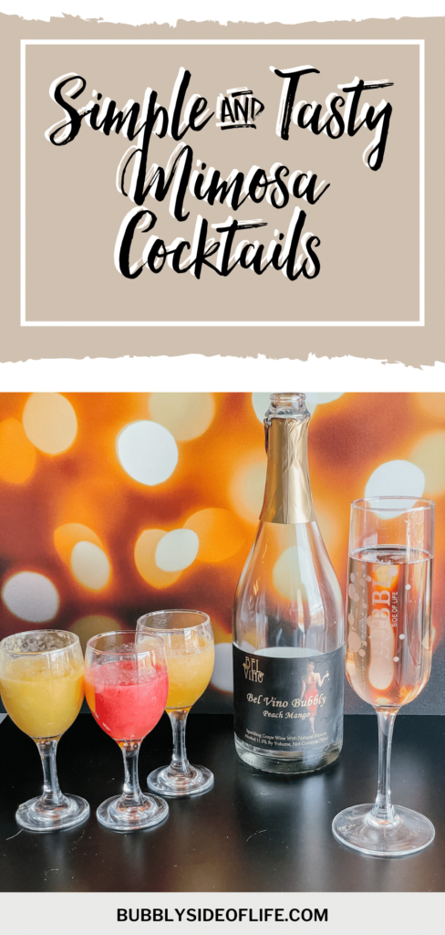 When we think of holiday mornings, we think of mimosa cocktails. One of the easiest ways to add a little bit more bubbly to your holiday. Whether you're celebrating Christmas or ringing in the new year, mimosa cocktails are one of the easiest ways to do it. Create your perfect Christmas morning mimosa bar with these easy mimosa recipes.