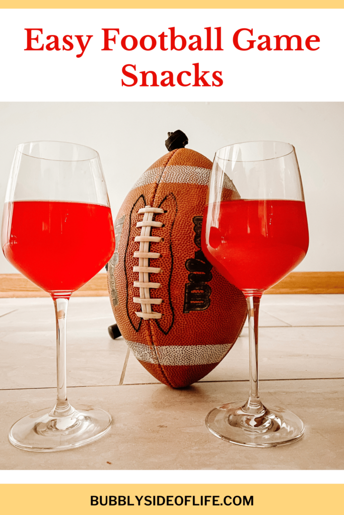 Looking for easy game day snack? On this blog you are going to find my favorite game day drink recipes, easy game day snacks, and game day mocktail recipes! Start planning for the Big Game here!