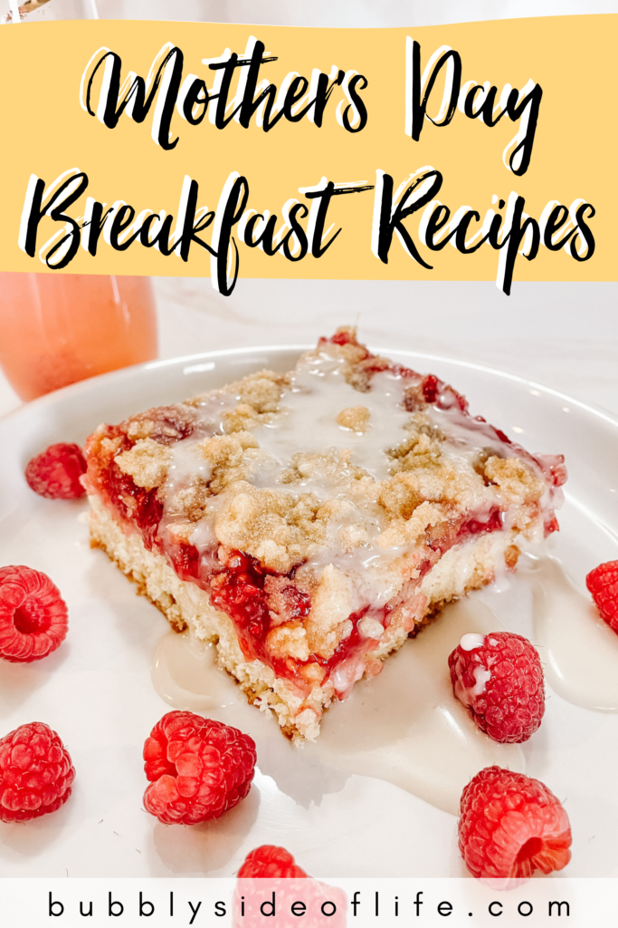 We created the best Mother's Day Breakfast or Brunch Menu with recipes for sparkling raspberry breakfast cobbler and a sparkling raspberry cocktail. Check out my blog for the full recipes and follow along here for all things bubbly! | Rosé | Sparkling Wine Cocktail Recipes | Girls Night Ideas | Bubbly Recipes | Cocktail Recipes | Breakfast Recipes | Brunch Recipes | Brunch Food | Breakfast Ideas