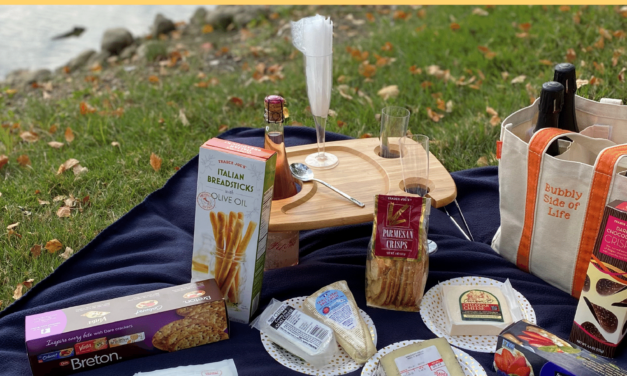 Everything You Need for an Amazing Bubbly Picnic