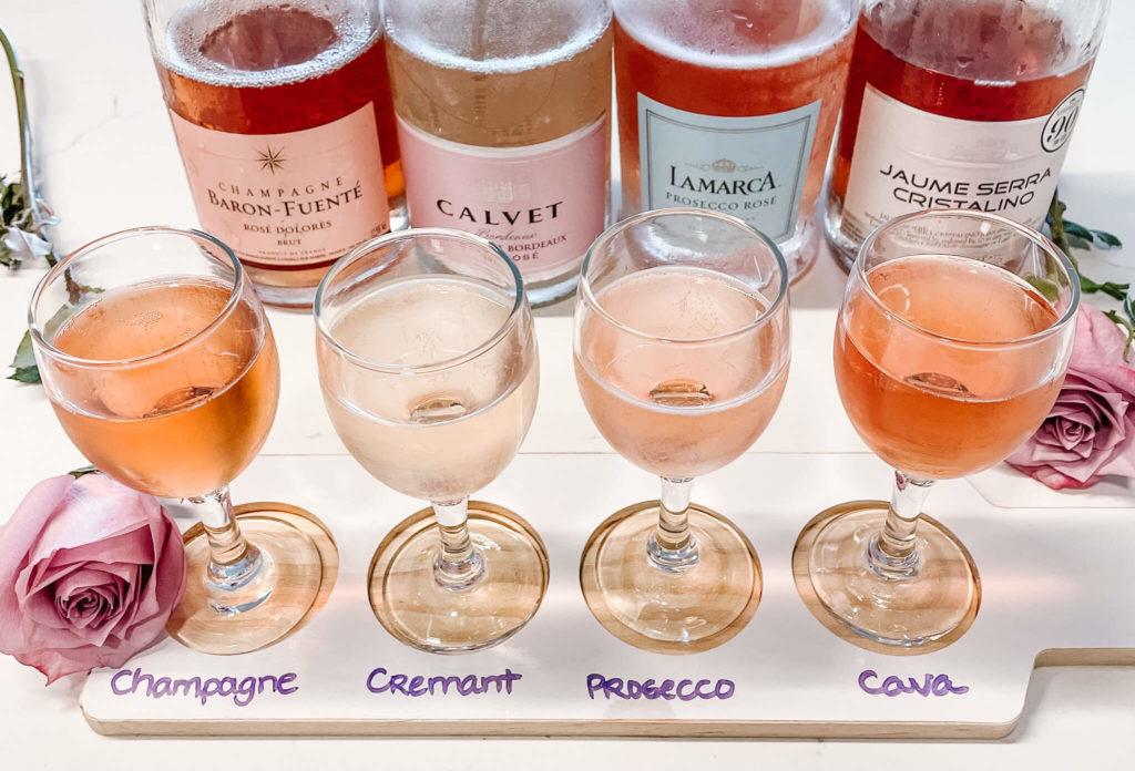International sparkling rosé wines to celebrate International Rosé day