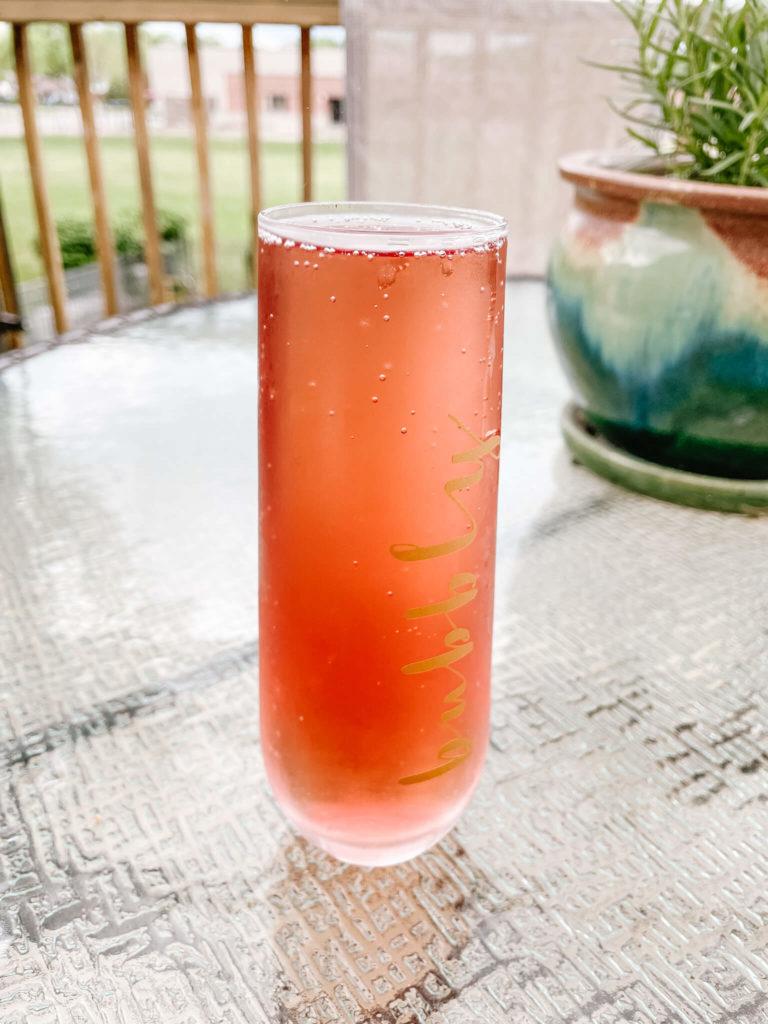 Sparkling rosé...how does it get its color?