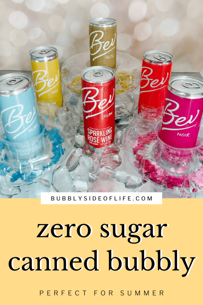 As you probably have seen, Bev has so many fun options for canned wine. We did the work and tested each variety to help you choose which Bev canned wine you should buy for your next pool party, summer picnic, beach trip, summer party, or any occasion! Check out the blog post for the full review on Bev and a discount code to use for your next Bev purchase. Follow along here for all things bubbly!