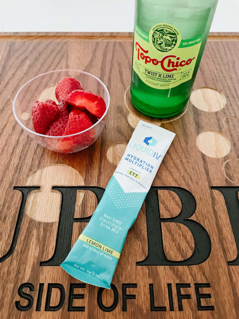One of our favorite hydration drinks  perfect for summer!