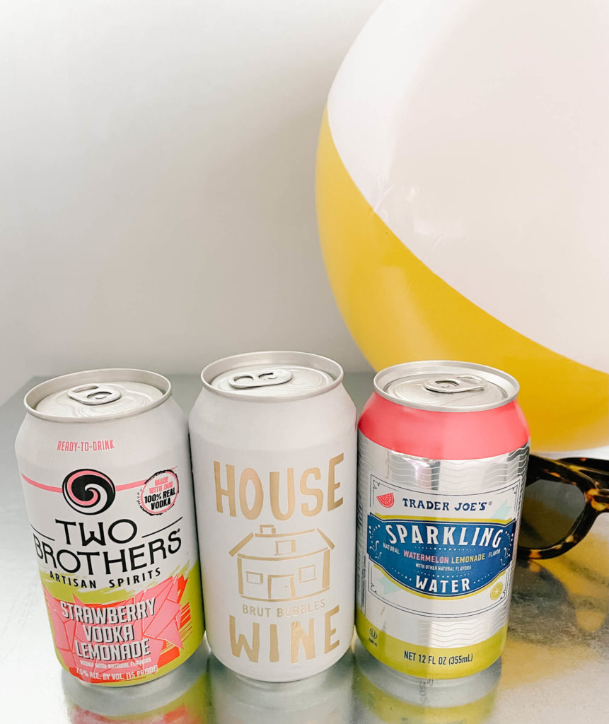 Canned wines are bigger, therefore, don't fit into most 12 oz can koozies.