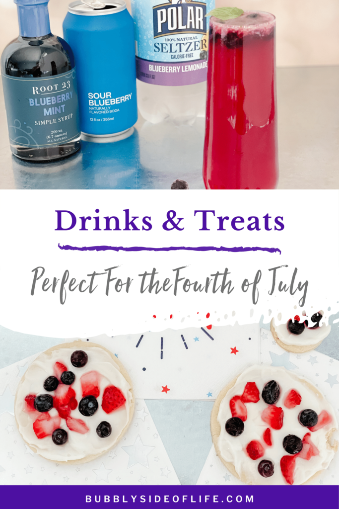 These will be your new go-to 4th of July drinks and desserts! They are also perfect for summer parties and to add a bit of fun to your next gathering. Check out our blog for the full recipes and more 4th of July ideas including 4th of July Mocktails, 4th of July Cocktails, 4th of July Food, 4th of July Desserts, and 4th of July Appetizer Ideas, all with a bubbly twist. Follow along here for all things bubbly!